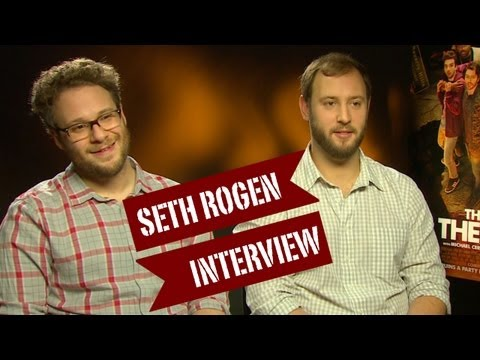Seth Rogen - This Is The End Interview With Evan Goldberg