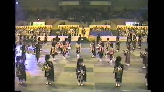 1989 USA Tour Black Watch and Argyles Massed Bands