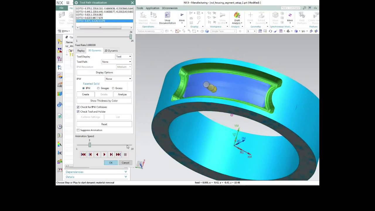 NX CAM   In Depth Video Tips - 5 Axis Programming with NX CAM