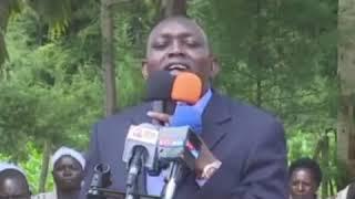 OSKA SUDI TELLS UHURU TO START AUDIT FROM KENYATTA FAMILY..