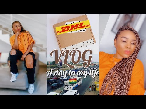 VLOG: SEE ACCRA WITH ME   GETTING MY HAIR DONE, UNBOXING, BUSINESS, GIST, etc   ACCRA GHANA 2021🇬🇭