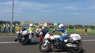 2016 7.23 島根県警察 白バイ大会