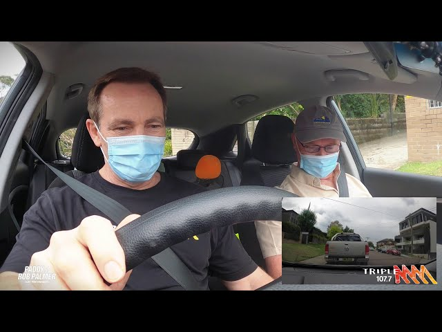 Paddy & Rob Take A Learner Driving Test | Triple M Central Coast