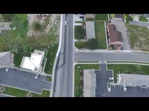 Aerial Drone Video Alpine Utah.