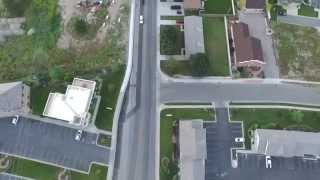Aerial Drone Video Alpine Utah.