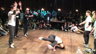 MELTING FORCE vs CAY FUSION MC | FLOOR WARS 2012