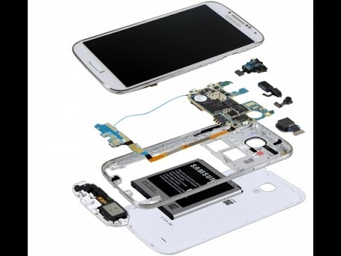 Disassemble your Samsung Galaxy S4 for Screen/Parts Repair - YouTube