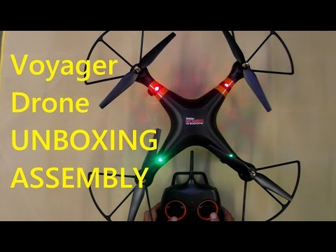 ✔Quadcopter Unboxing - ALDI Cocoon Voyager (Syma)