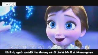 [Lyrics + Vietsub] Lily Allen - Somewhere Only We Know (Anna & Elsa)