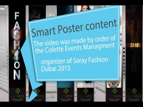 Video SmartLed screens and content, Dubai