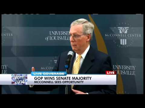 Senate Majority Leader McConnell post-Election Day conference - Pt. 2