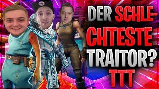 🤔🤣 DER SCHLECHTESTE TRAITOR? TTT mit den Jungs! | Fortnite Battle Royale