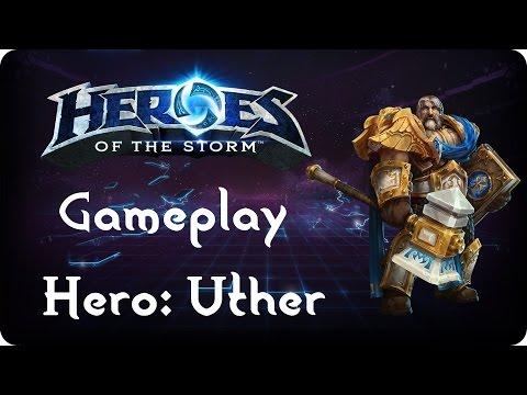 Uther Gameplay | Stunadin - Guide & Talente - Heroes of the Storm | Deutsch / German - HOTS