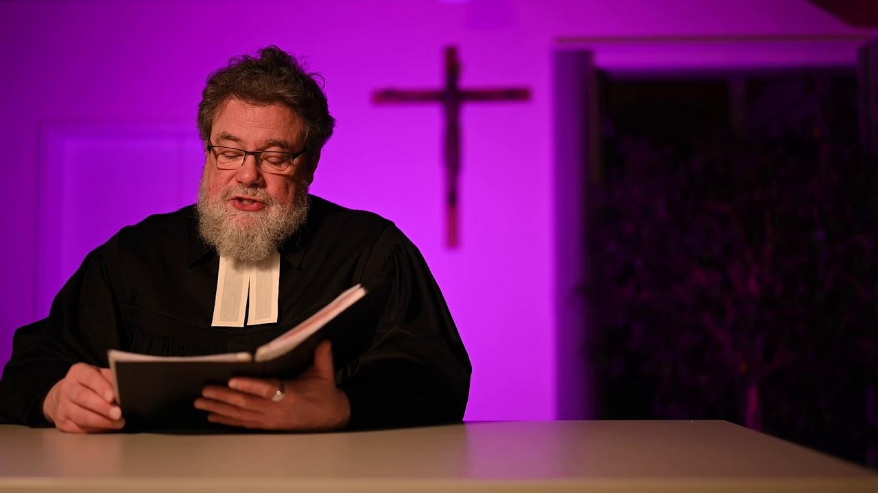 Videopredigt zum Sonntag Lätare