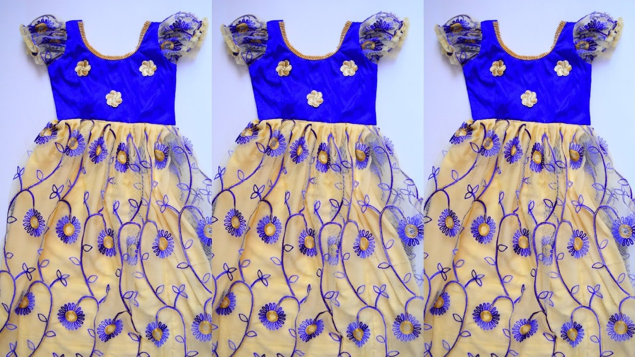 7790c624d48d Children frock cutting and stitching