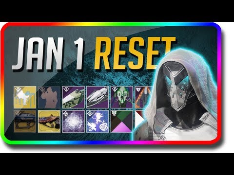 Destiny 2 - 2019 New Year Reset! (January 1 Black Armory Weekly Reset, Powerful Gear) thumbnail
