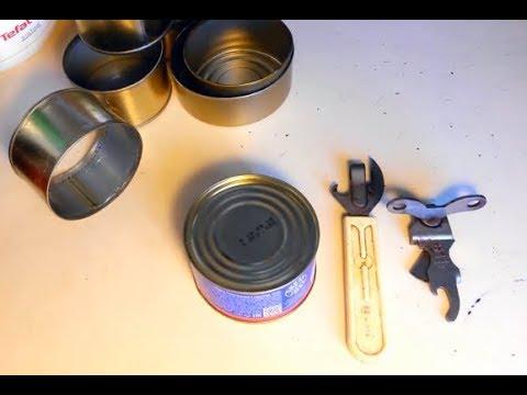 Консервный нож или чудо открывалка из Советских времен.Вторая жизнь консервных банок.