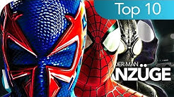 Top 10 der coolsten SPIDER-MAN Anzüge