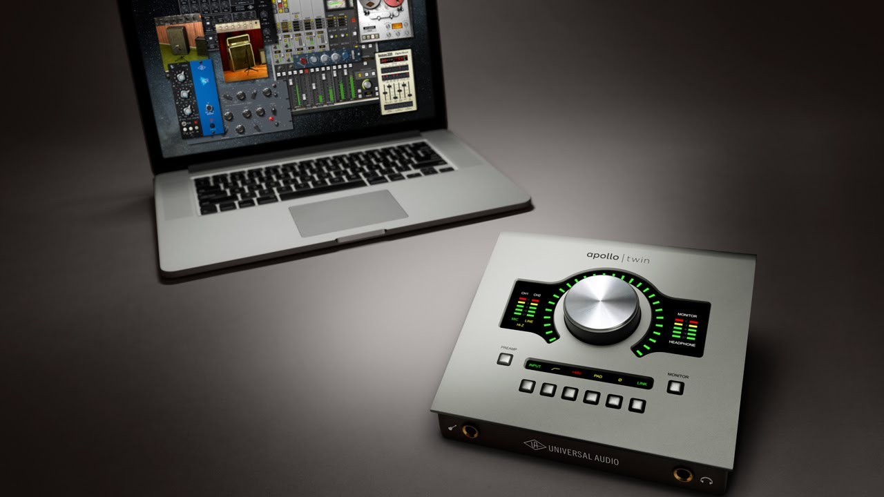 Universal Audio Apollo Twin -best audio interfaces for mac