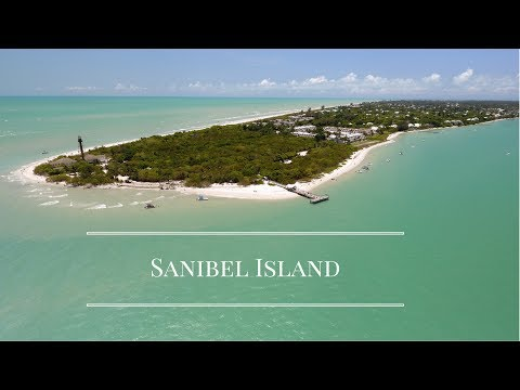 Spending the day on Sanibel Island - Florida (Drone footage)