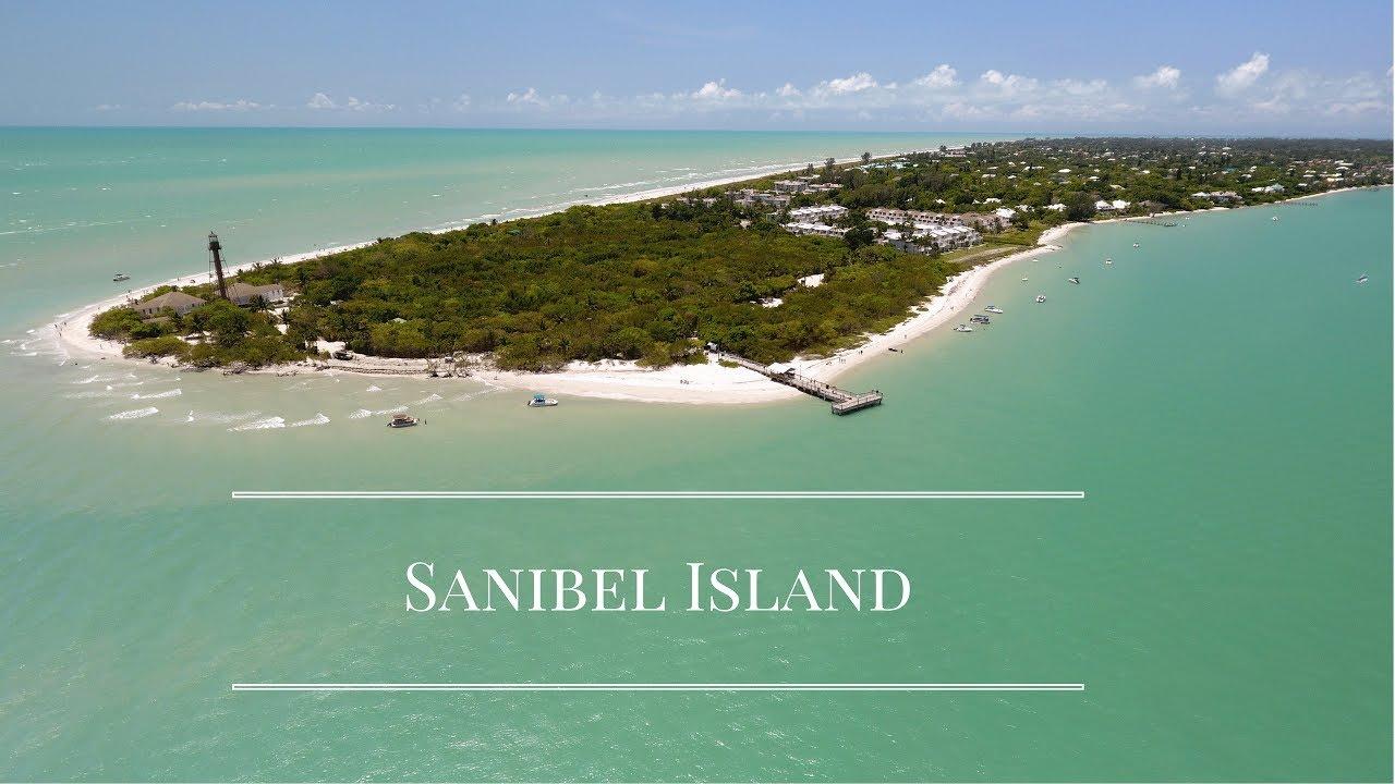 Sanibel Island Florida Drone Footage
