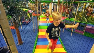 Fun Indoor Playground for Family and Kids at Leo