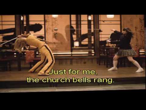 karaoke video of Bang Bang - From kill bill.