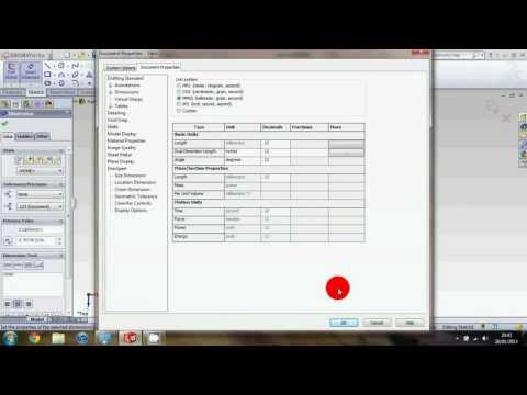 Solidworks Sghs Tutorial How To Change Your Units Inches To Millimeters