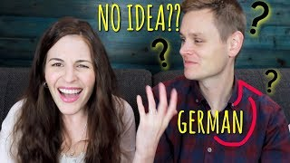 German Tries Guessing 5 ENGLISH SAYINGS!!