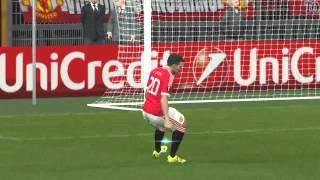 Pro Evolution Soccer 2016 - UEFA Europa League Final Manchester United vs PSV