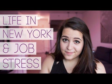 REAL TALK: Life in NYC & Job Stress | Ellko