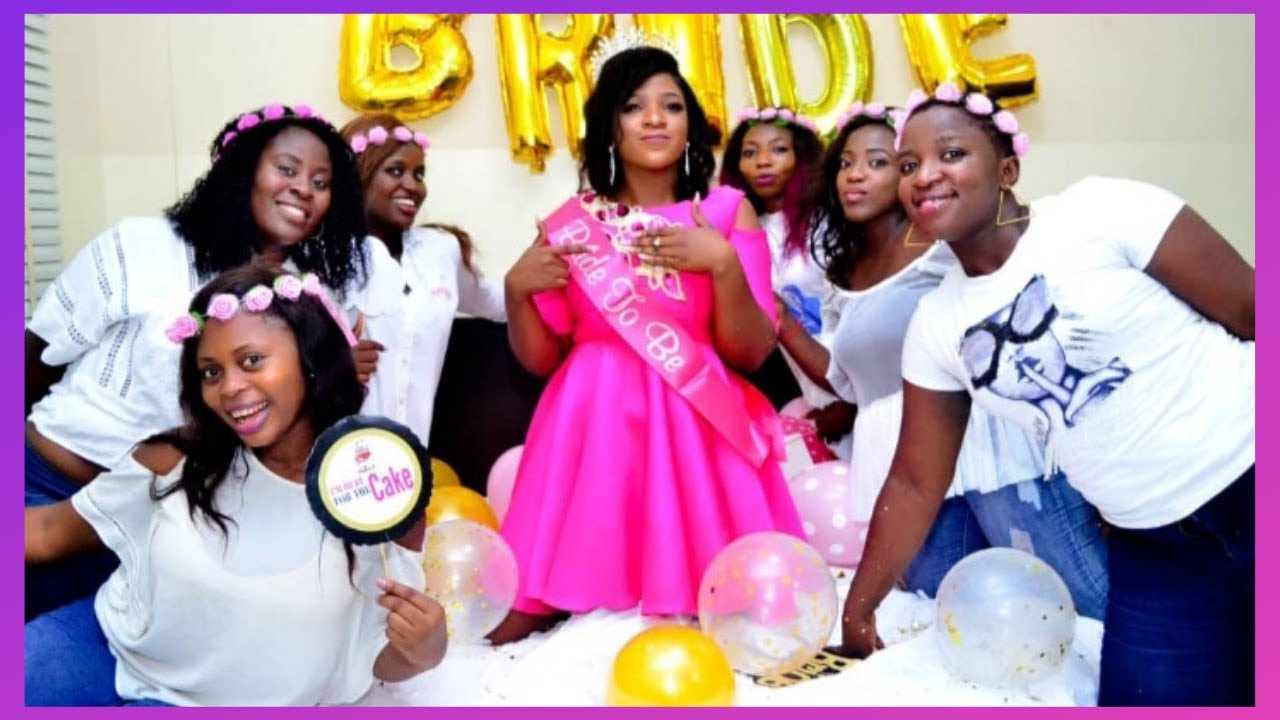 Download HOW TO PLAN A NIGERIAN BRIDAL SHOWER    Damie Alabi