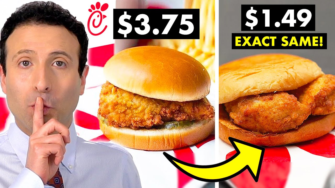10 FAST FOOD SECRETS That Will Save You Money!