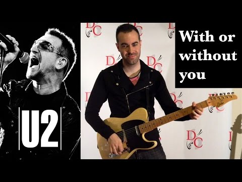 With or without you - U2 Instrumental Guitar Cover