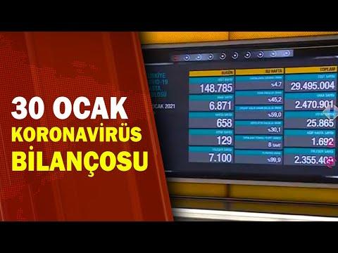 Türkiye'nin 30 Ocak Koronavirüs Tablosu / A Haber