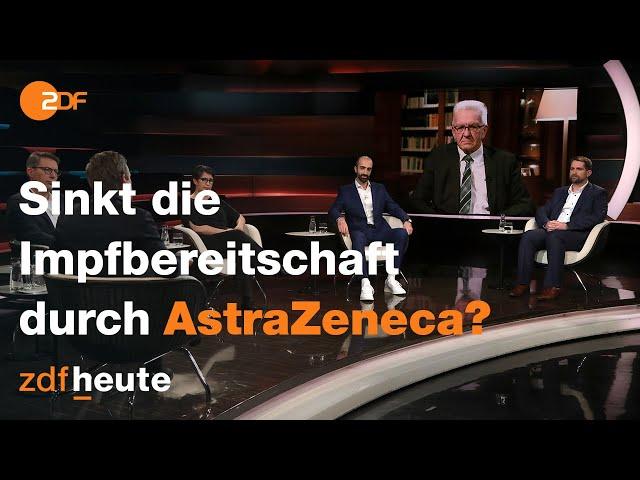 Diskussion über die weitere Impfstrategie Deutschlands  | Markus Lanz vom 16. März 2021