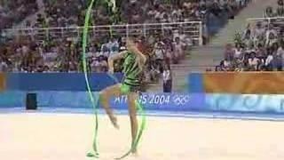 Alina Kabaeva Ribbon Athens 2004 *QUALIFICATIONS*