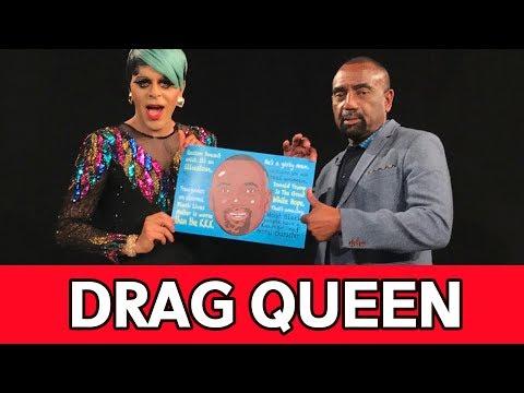 "Celeb Drag Queen Artist Bashes Trump, Endorses BLM & ""Prays"" To Overcome Transgenderism (Full)"