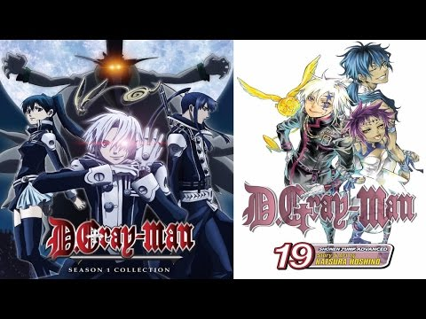 AH D.Gray-Man 2006 Anime & Manga Review