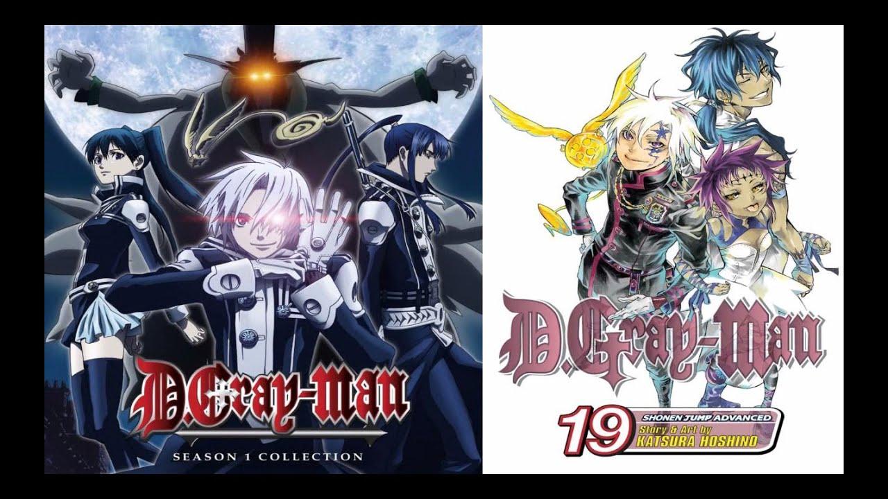 Ah d gray man 2006 anime manga review