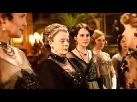 Downton Abbey season 6 launch with Hugh Bonneville & Maggie Smith