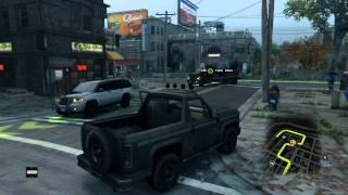 Watch Dogs 2014 Criminal Convoy Like a Gangsta. HAHA.