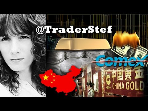 COMEX VS Shanghai Gold Exchange - TraderStef on Big Gold & Silver Rally