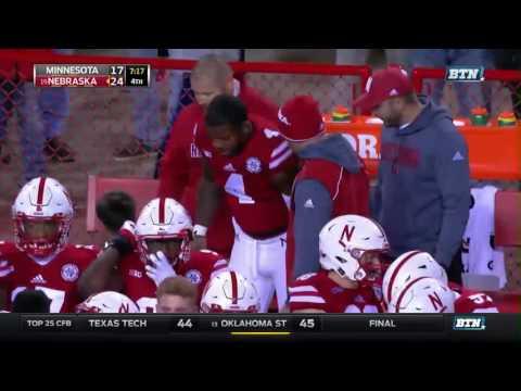 Minnesota at Nebraska - Football Highlights
