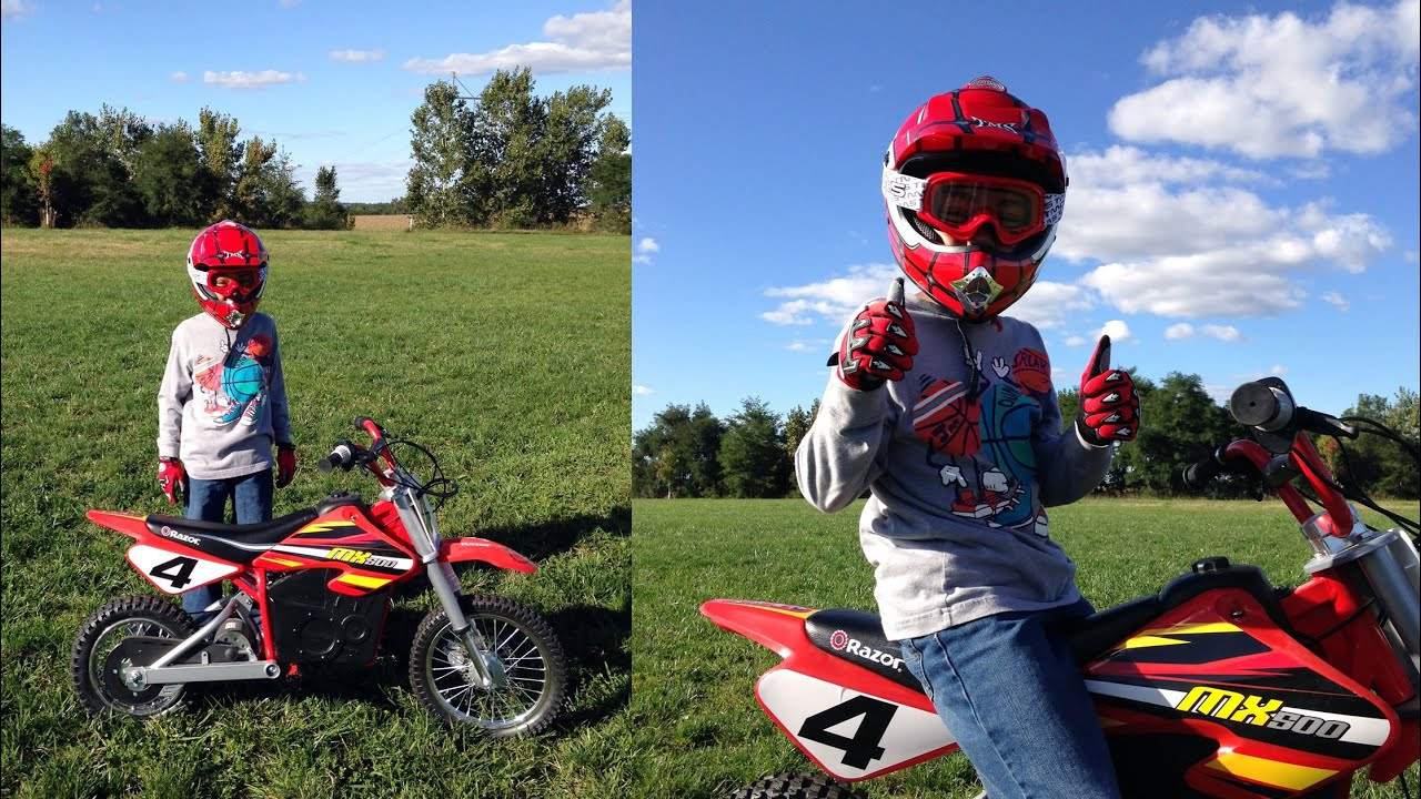Razor Mx500 Motorcycle Dirt Bike 1st Ride Rideyourway