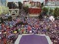 Флешмоб выпускников побил рекорд на самарской набережной