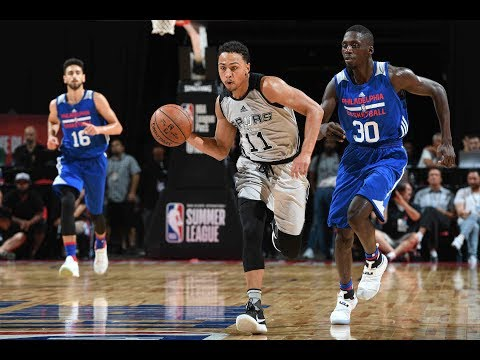 Full Highlights: Philadelphia 76ers vs San Antonio Spurs, MGM Resorts NBA Summer League | July 9