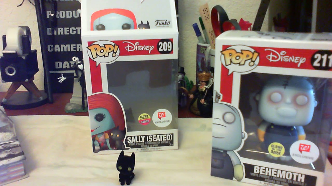 Walgreens Nightmare Before Christmas Funko Exclusives 2017 Unboxing ...