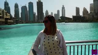 Dubai 2018. Burj Khalifa, Dubai Mall & Fountain.Sony FDR X 3000 and Lumix G80 footage.