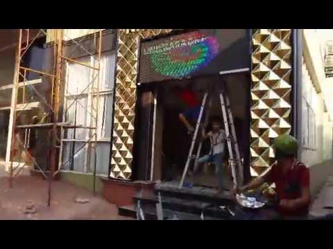 Biển karaoke ốp alu gương đẹp và lạ